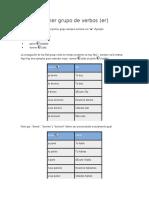 Primer grupo de verbos en frances.docx