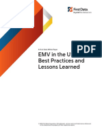 EMV in the USA Best Practices and Lessons Learned