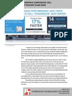 Database server performance comparison