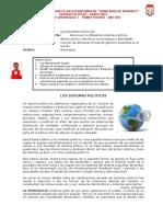 Guía 1. Formas de Gobierno