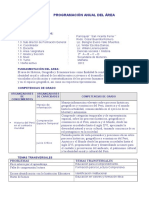 Programacion Anual Formato 2012