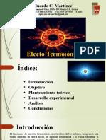 Efecto Termoiónico