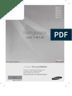 Refrigerator user manual for Samsung RSA1STMG