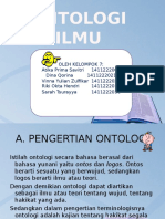 Presentasi Klp 7 (ONTOLOGI ILMU)