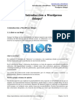 Tema 1-Introducción a Wordpress (Blogs) (1)