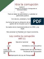 Diapositivas de La Ley de Corrupcion