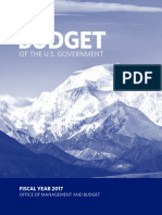President Obama's 2017 Budget Request
