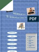 Webquest Sedentarismo