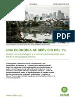 Informe de Oxfam Resumen