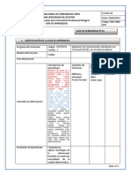 Guía de Aprendizaje 3 Excel