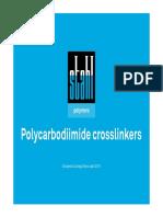 Carbodiimide Crosslinkers Presentation 2015