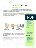 CRM Customer Portal - Security White Paper