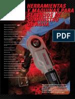 Herramientas y Maquinas Para Servicios de Suminstro de Agua