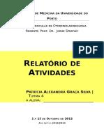 Relat¢rio Otorrino Patricia Silva