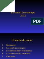 1. Chapitre Circuit Économique Global
