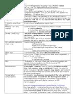 Diagnostic Imaging Midterm I