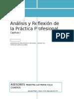 Análisis y Reflexión de La Práctica Profesional