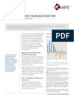Managing Your Risk Tolerance Over Time