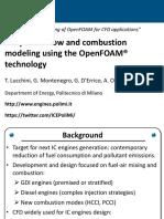 Development of Advanced Combustion Model