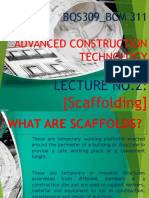 Scaffolding - LECTURE 2