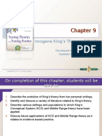 chapter 9 imogene kings theory of goal attainment