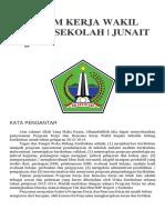 Program Kerja Wakil Kepala Sekolah
