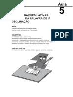 15293024022014Fundamentos de Lingua Latina Aula 5