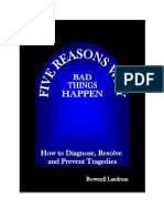 5 Reasons Why Bad Things Happen eBook