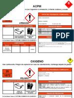 Etiquetas Productos Químico Ejemplo