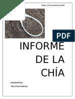 Informe de Biologia de La Chia