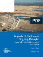 Impacts Of California's Ongoing Drought Hydroelectricity Generation 2015 Update