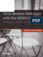 Writing Web Apps With Mean