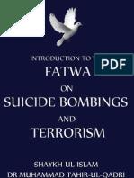 Fatwa on Terrorism by Dr Muhammad Tahir-ul-Qadri