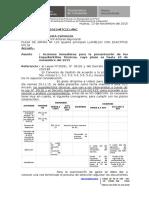 Oficio (c) N° 035, Acciones inmediatas para presentacion de Exp.tecnicos