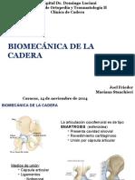 1. Biomecánica Cadera
