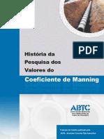 ABTC - História Da Pesquisa Dos Valores Do Coeficiente de Manning