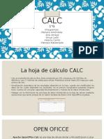 Presentacion Hoja Calc