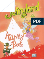 Fairyland 4 Activity Bookred
