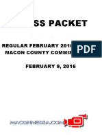 Feb 2016 Press Packet Macon Co Commissioners