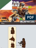75129 Lego Wookie Gunship Micro Fighter