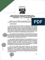Central Resolución 040 2015 SG