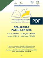 REALIZAREA Paginilor Web