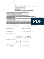 FRL 300 Formula Sheet Common Final