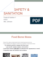 safety and sanitation and kitchen management  2