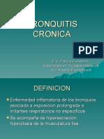 4.- Bronquitis Cronica