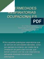 6.- Enfermedades Respiratorias Ocupacionales