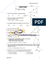 Examencito de trigonometría