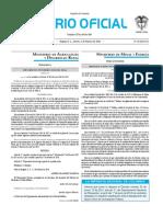Diario oficial de Colombia n° 49.777 05 de febrero de 2016