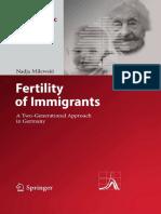 Dr. Nadja Milewski - Fertility of Immigrants