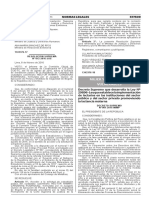 Decreto Supremo Nº 001-2016-MIMP